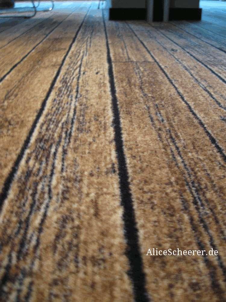 Teppich oder Holzfußboden im 25hours by Levis ®