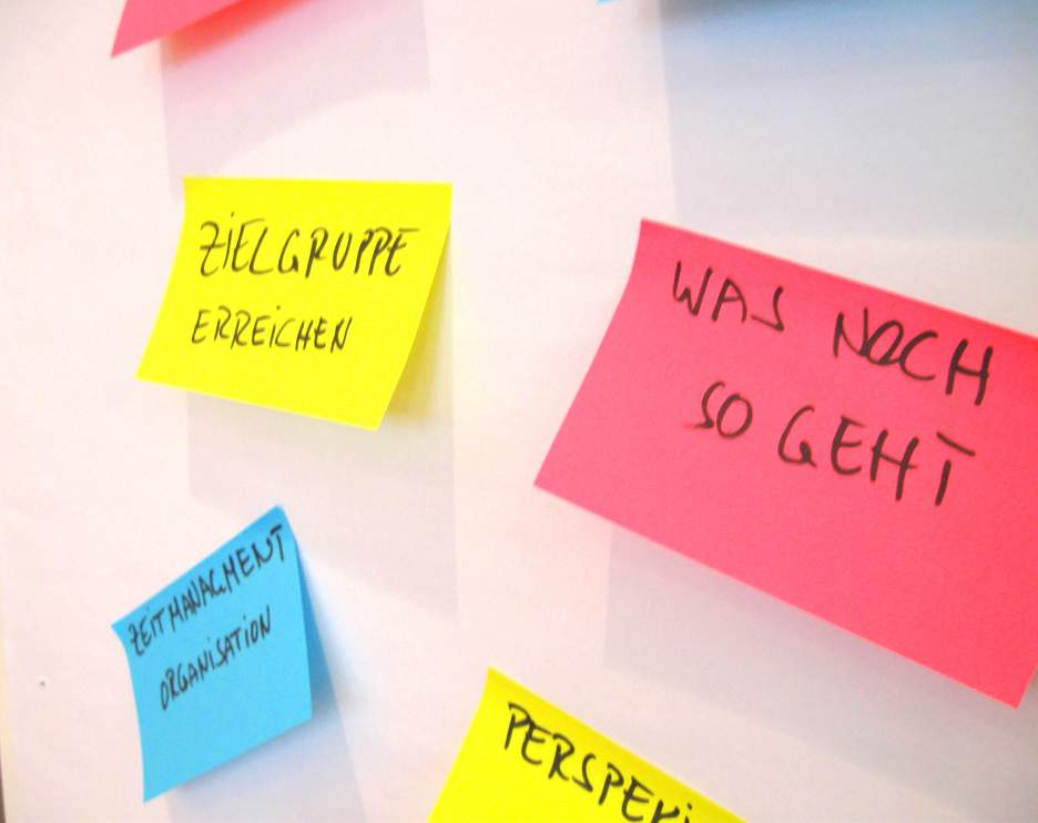 Einige Ziele der BLOGST Pro Teilnehmer
