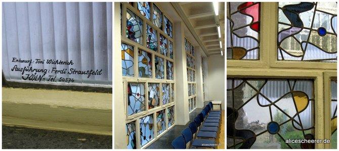 Die Fenstermosaiken in der Karl Rahner Akademie