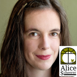 Portrait Alice Scheerer / Foto: Gudrun Holde Ortner