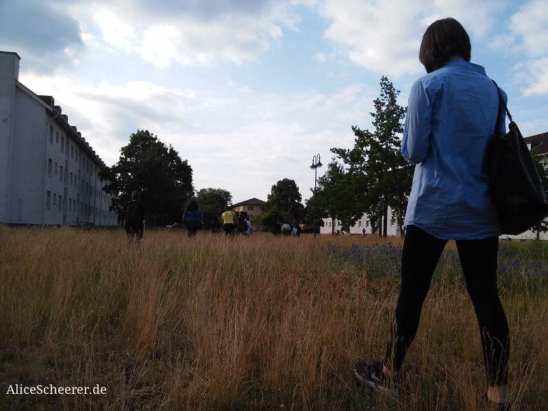 Lehrreich und entschleunigend: Ein Instawalk im Leerstand